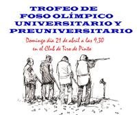 Caza y Pesca de E.T.S.I. Montes organiza una tirada de Foso Olímpico para universitarios