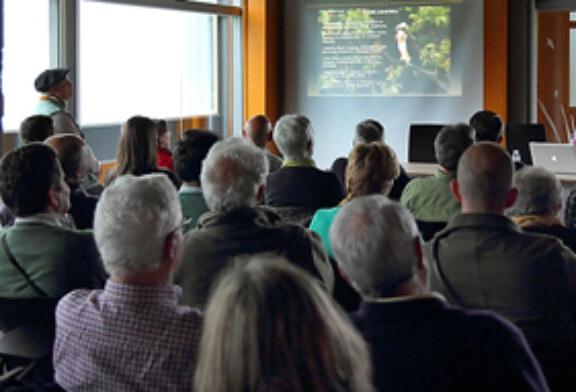 Gran asistencia al seminario sobre el águila pescadora en el Urdaibai Bird Center