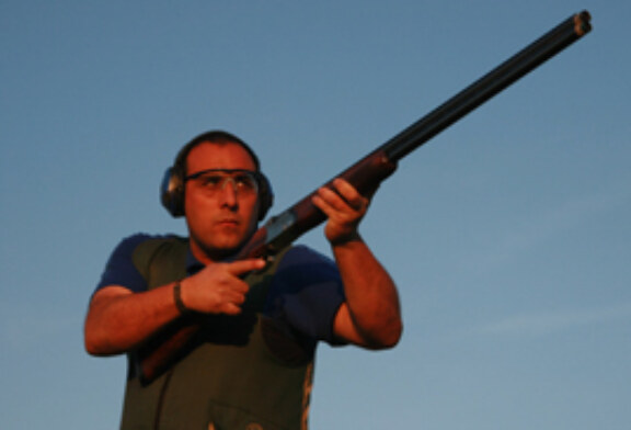 David Robles, nuevo campeón de Gipuzkoa de Compak Sporting