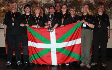 La Selección de Euskadi obtiene la plata en el IX Campeonato estatal Mar Costa Damas
