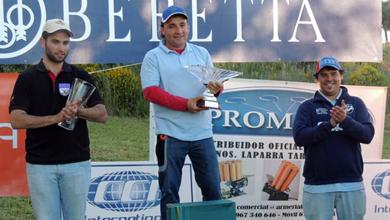 Los participantes vascos se hacen notar en el Campeonato estatal de Compak Sporting