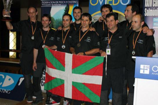 La Selección de Euskadi, campeona estatal de pesca de salmónidos mosca