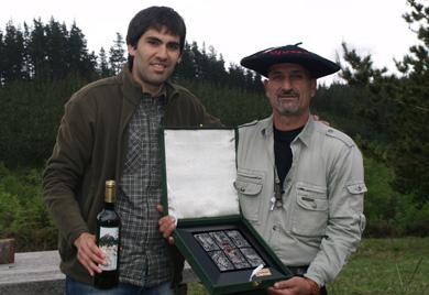Juan Carlos Artetxe, Campeón de Bizkaia de San Huberto