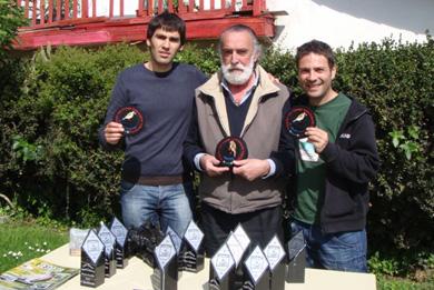 Los mejores pájaros cantores de Bizkaia en la prueba de Silvestrismo