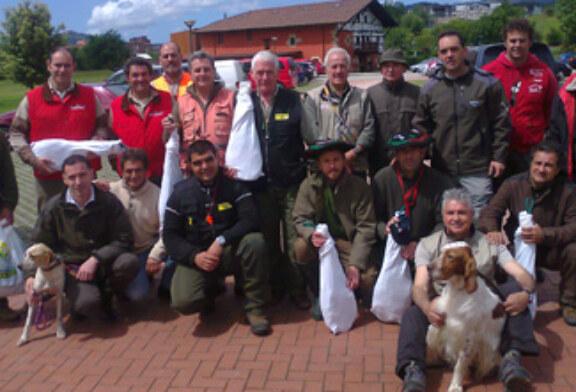 Gran participación en el concurso social bizkaino de perros de muestra