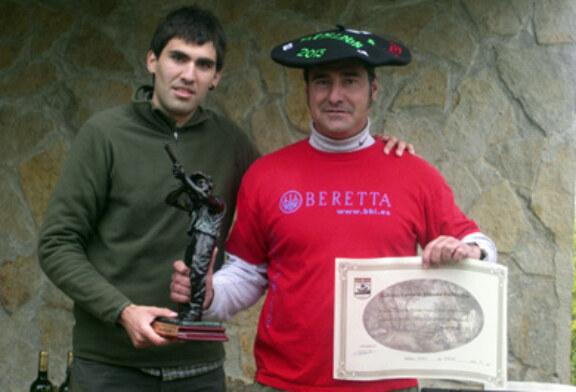 Jesus Ortiz se proclama campeón de Bizkaia de Recorridos de Caza