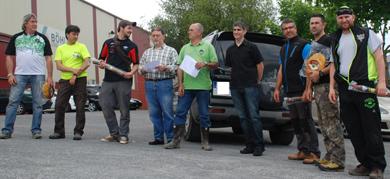 Javier Arribas y Nerea Falagan brillan en la prueba bizkaina de Recorridos de Caza con Arco