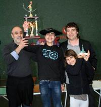 La climatología desluce el Trofeo Ciudad de Eibar de Silvestrismo