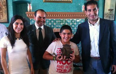 Premio Juvenex a un joven rehalero de Huelva