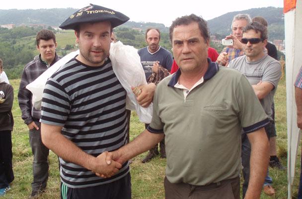 Urtxi Oiarbide se adjudica la tirada de pichón organizada por Galepertarrak