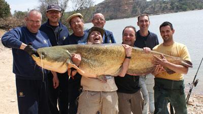 Los peces del Ebro y su pesca deportiva