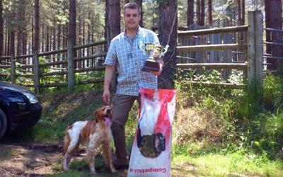 El eibarrés Iker Cenzual gana la Copa de Gipuzkoa de San Huberto