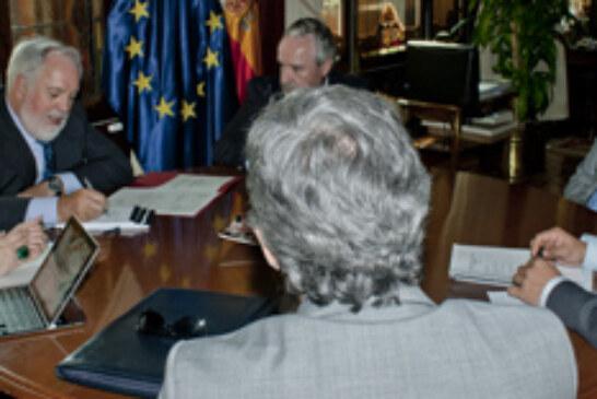 La ONC se reúne con el ministro de agricultura