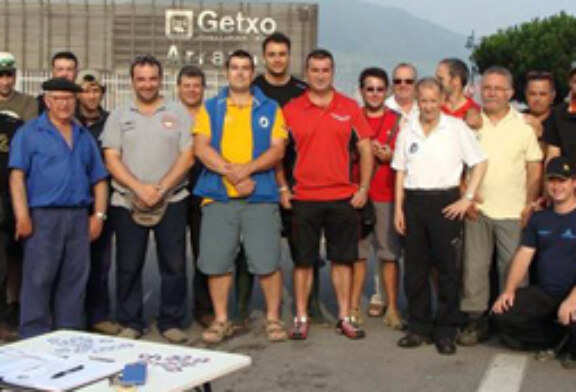 Jorge Fernández Calvo, campeón de Bizkaia de la modalidad Corcheo Mar
