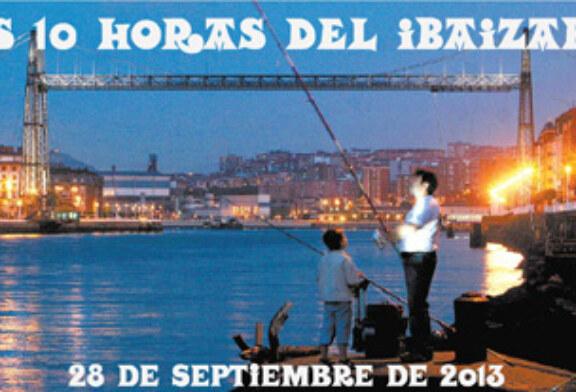 """Nueva edición del tradicional concurso de pesca marítima """"Las 10 Horas del Ibaizabal"""""""