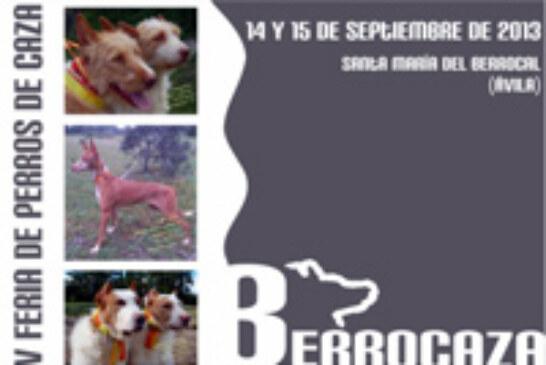 La feria de perros de caza «Berrocaza» se celebrará los días 14 y 15 de septiembre