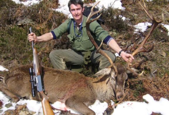 El ciervo en Bizkaia, su caza en rececho