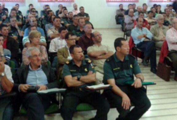 Cazadores castellanomanchegos se forman sobre los métodos de control de predadores