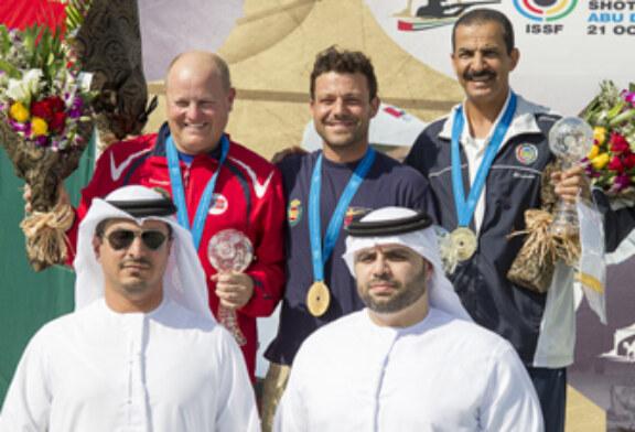 Kako Aramburu, oro en la Gran Final de la Copa del Mundo de Skeet