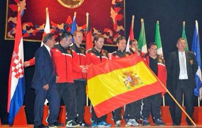 La selección española de pesca, campeona del Mundo de Mar Costa