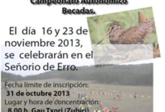 Comienzan las pruebas clasificatorias para el Campeonato de Navarra de Becadas