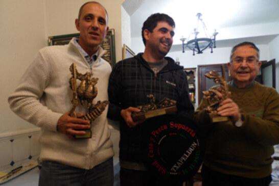 Juan Bautista Aja consigue hacer el cupo y gana el Campeonato Social de Becadas de Sopuerta
