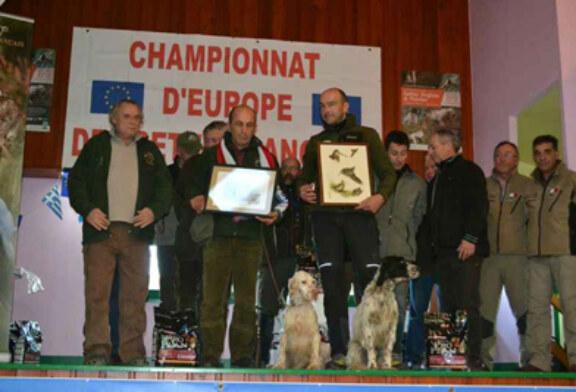 Dendaberri Jai, campeón de Europa macho en el europeo sobre becada 2013