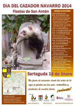 Los aficionados a la caza tienen una cita mañana en Sartaguda