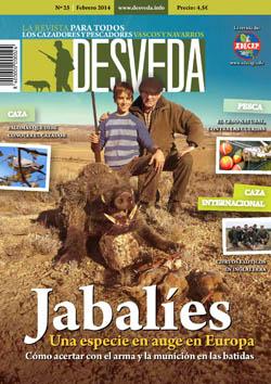 El jabalí, protagonista de la revista Desveda de febrero