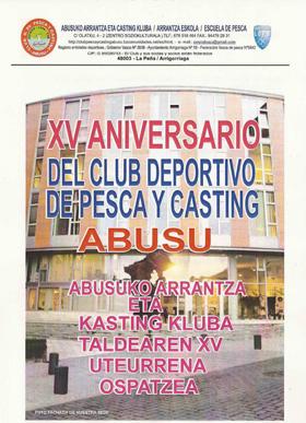 Arrancan hoy los actos conmemorativos del XV. aniversario del C.D.Abusu