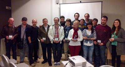 La Federación Vasca de Pesca y Casting entregó los galardones a los deportistas más destacados del año 2013