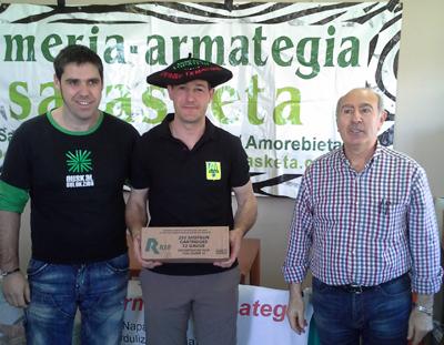 Ander Bilbao vence en el Campeonato de Bizkaia de Foso Universal