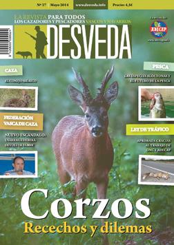 Recechos de corzo, el Día del Cazador y Pescador, la nueva Ley de Tráfico y mucho más este mes en nuestra revista Desveda