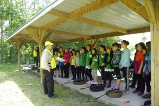 El curso básico de Field Target reúne alrededor de 200 jóvenes en Zumarraga