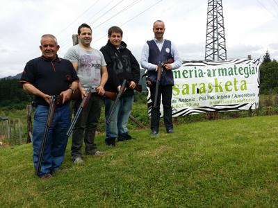 Iñaki Arteche consigue el primer puesto en el I. Gran Premio Desveda-Armería Sarasketa