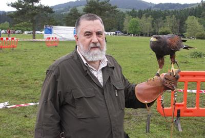 Portas reconoce el trabajo en defensa de la caza de Miguel Ángel Romero con el Coello de Ouro 2014