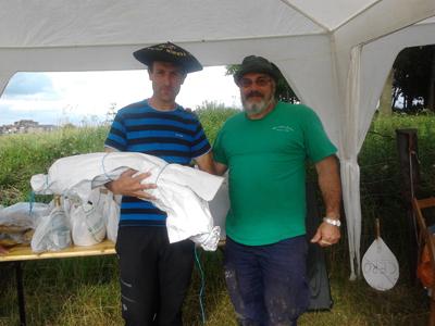 Aitor Garmendia vence en la tirada de pichón Colombaire de Galepertarrak