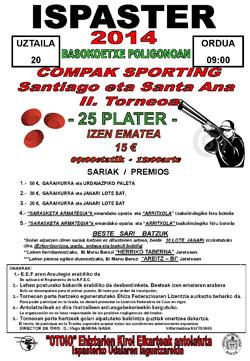 II torneo de Compak Sporting Santiago y Santa Ana en Ispaster