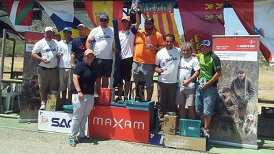 Igor larrea nuevo campeón de España de Compak Sporting