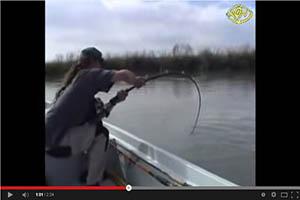 ¡Increíble lance de pesca!