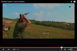 Renato Lamera sale de caza
