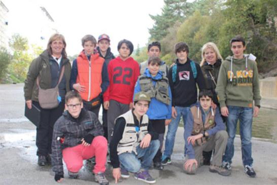 A los más jóvenes también les va la pesca