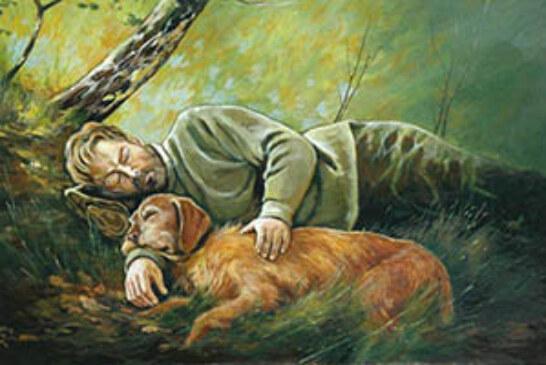 FOTO DEL DÍA: El vínculo del cazador con su perro