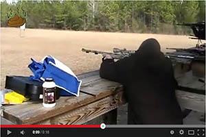 Accidente con rifle