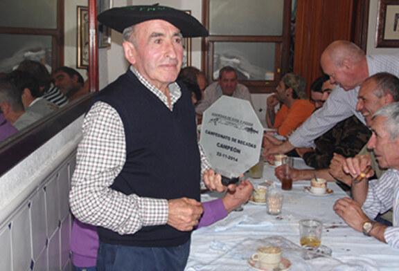 Igor Mateos, el único que consigue abatir una sorda en el campeonato de becadas de Sopuerta