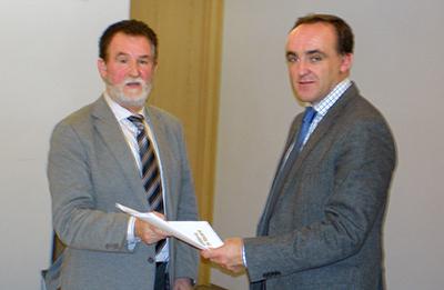 Reunión entre FNC y el Consejero José Javier Esparza