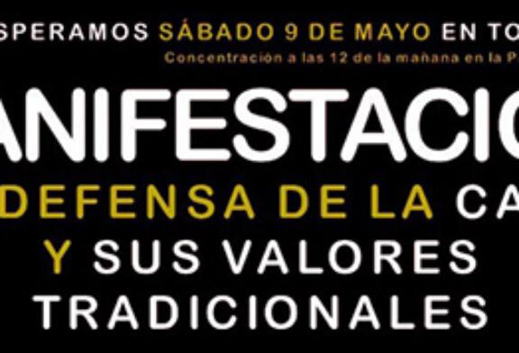 Manifestación en defensa de la caza el 9 de mayo en Toledo