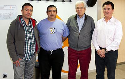 Reunión entre la Federación Navarra de Caza y EH Bildu