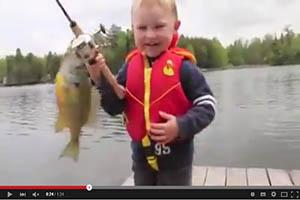 El primer contacto con la pesca