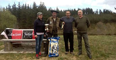 Juan Carlos Artetxe, nuevo campeón de Bizkaia de San Huberto